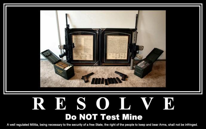 RESOLVE, Don't Make Me Test Mine